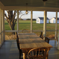 Farmhouse Porch by Peter Zimmerman Architects
