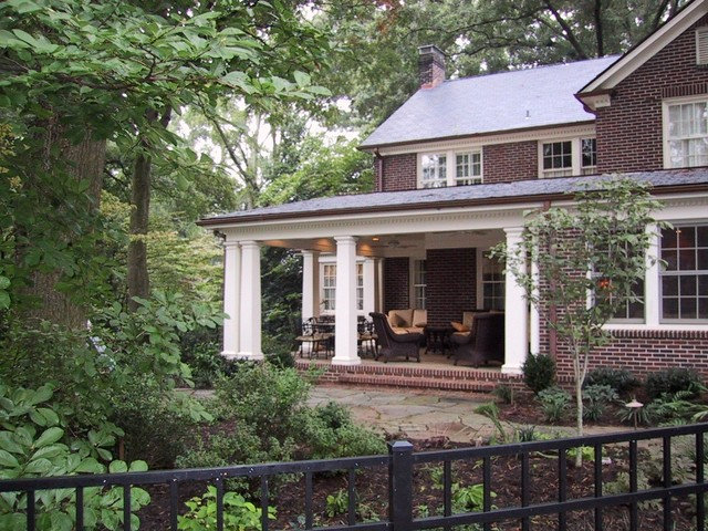 Traditional Porch by Advanced Renovations, Inc.