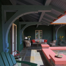 Traditional Porch by Joan Heaton Architects