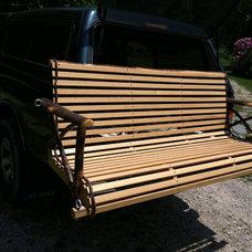 Traditional Porch by Mt Vernon Barn Company