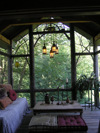 Eclectic Porch by Art Gems