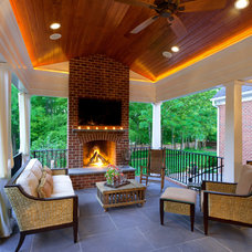Traditional Porch by Jim Schmid Photography