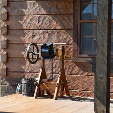 Traditional Porch Afton Virginia Cabin