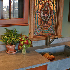Traditional Porch by Artisan Kitchens LLC