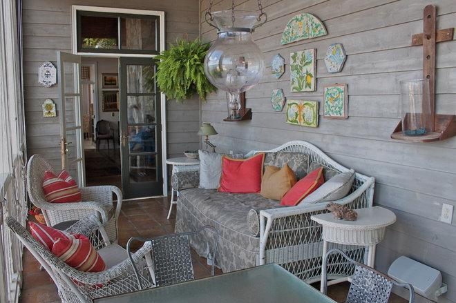 Traditional Porch by Lauren Mikus