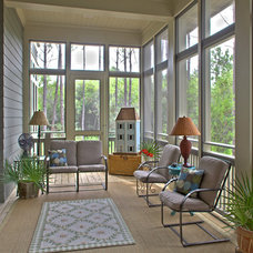 Eclectic Porch by Geoff Chick & Associates