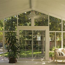 Contemporary Porch by All-Tex