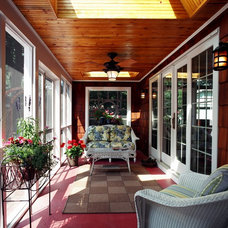 Traditional Porch by Bud Dietrich, AIA