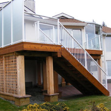 Modern Porch by Ridgewood Renovations