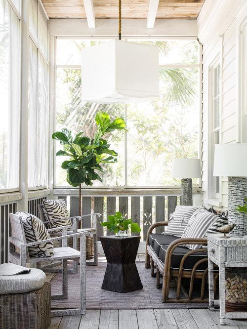 Foto e idee per patii e portici patio o portico con un for Idee portico coloniale