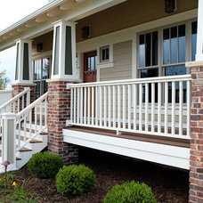 Traditional Porch by K Architectural Design, LLC