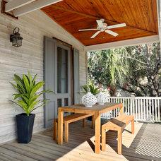 Beach Style Porch by Matthew Bolt Graphic Design