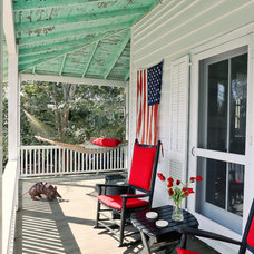 Beach Style Porch by Matthew Bolt Graphic Design