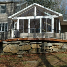 Traditional Porch by Archadeck of Central Connecticut