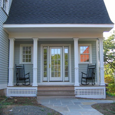Traditional Porch by Lacey Custom Carpentry