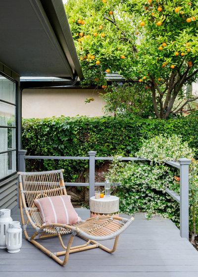 Contemporary Porch by J. Kurtz Design