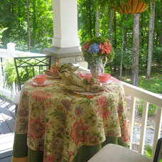 Traditional Porch by Anita Diaz for Far Above Rubies