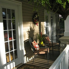 Eclectic Porch by Anita Diaz for Far Above Rubies