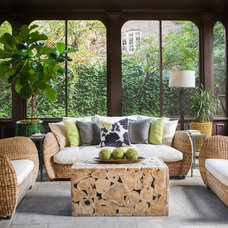 Tropical Porch by Darden Design Group