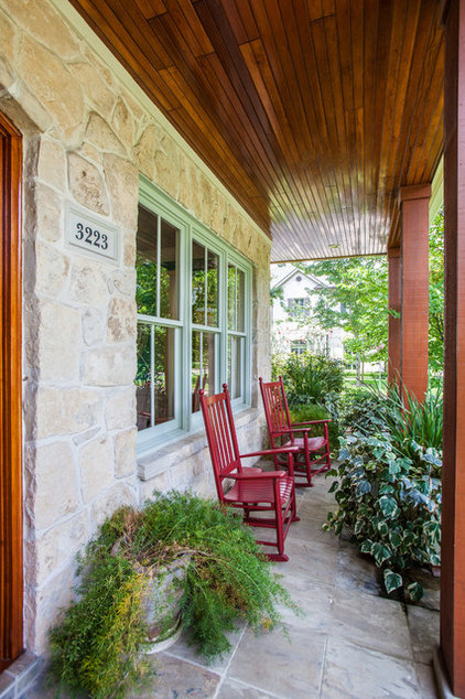 Traditional Porch by Creative Touch Interiors