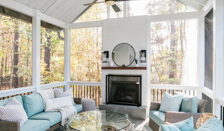 Porch of the Week: Screened Retreat Provides Year-Round Enjoyment