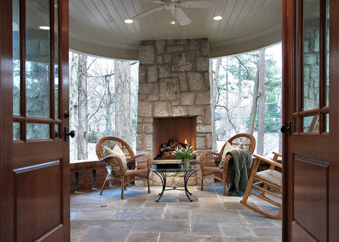 3 season room ideas for Four season rooms with fireplaces