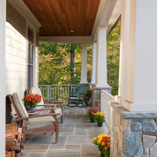 craftsman porch by Richard Leggin Architects