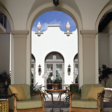 Mediterranean Patio by Marvin Windows and Doors