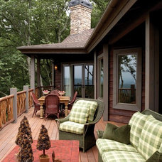 Traditional Porch by Natural Element Homes