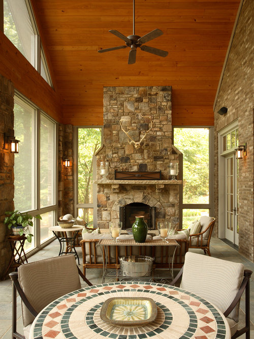 Screened In Porch Design Ideas Remodels Amp Photos Houzz