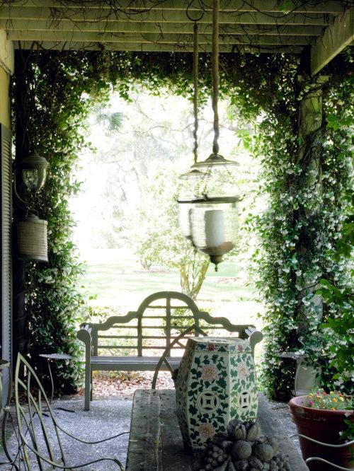 Shady Courtyard Garden Ideas