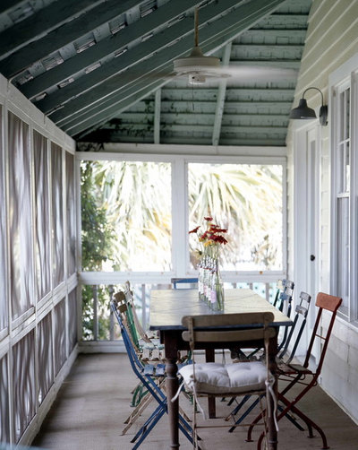Shabby-Chic Style Verandah by Atlantic Archives, Inc.