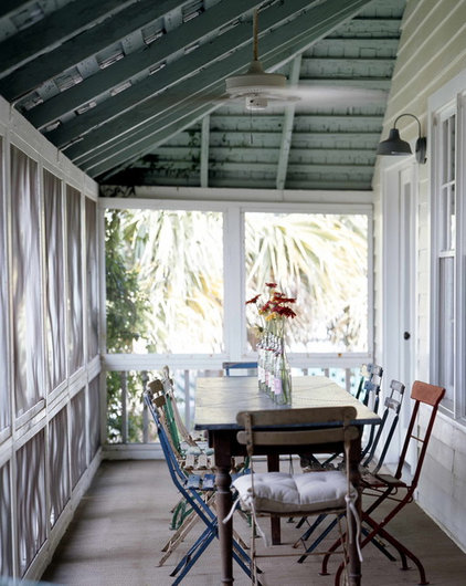 Shabby chic Porch by Atlantic Archives, Inc.