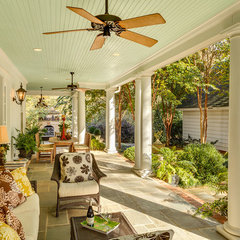 traditional porch by Dullea and Associates Inc.