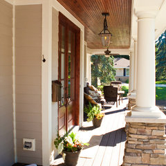 traditional porch by Magnolia Custom Homes