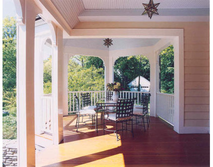 traditional porch by Austin Patterson Disston Architects
