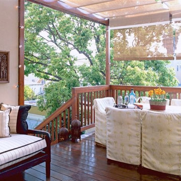 Back Covered Deck Patio