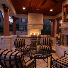 Traditional Porch by Stone Acorn Builders