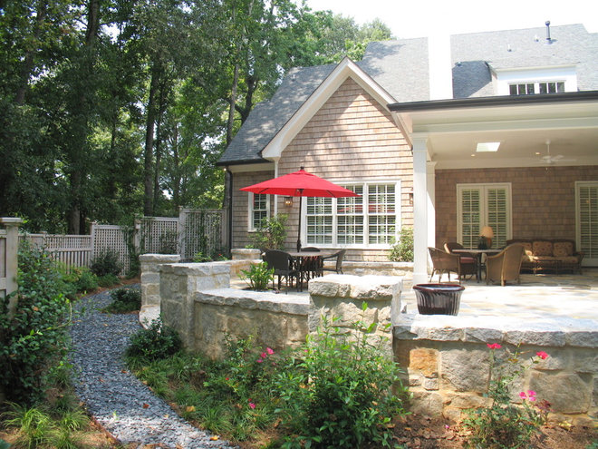 Traditional Porch by Greg Mix - Registered Architect