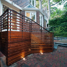 Contemporary Porch by Fowlkes Studio