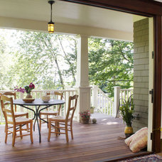Traditional Porch by Emerick Architects