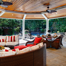 Traditional Porch by Creative Design Construction, Inc.