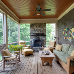 traditional porch by Tad Davis Photography