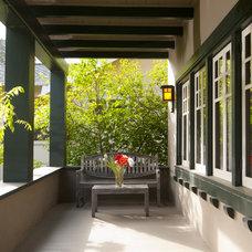 Craftsman Porch by Bali Construction