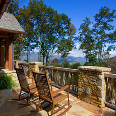 Eclectic Porch by Morgan-Keefe Builders, Inc.