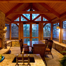 Traditional Porch by Morgan-Keefe Builders, Inc.
