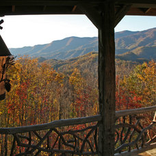 Rustic Porch by Appalachian Antique Hardwoods