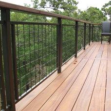Contemporary Porch by Austin Deck Company