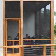 Modern Porch by Sagatov Design-Build