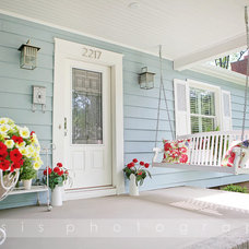 Traditional Porch by Oasis Photography